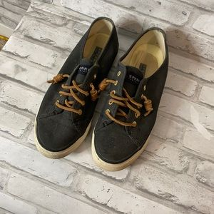 Women's Sperry Top-Sider Navy Tennis Shoes